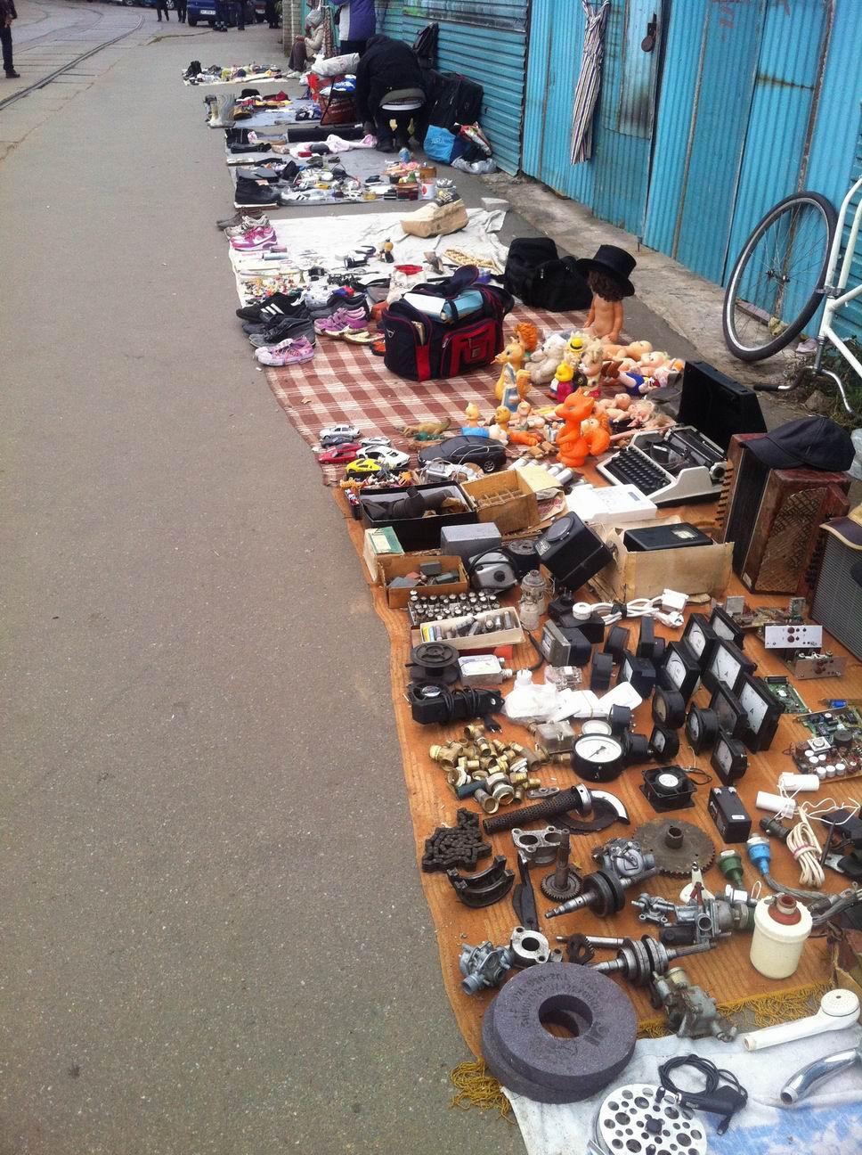 Рынок Куренёвка, Киев