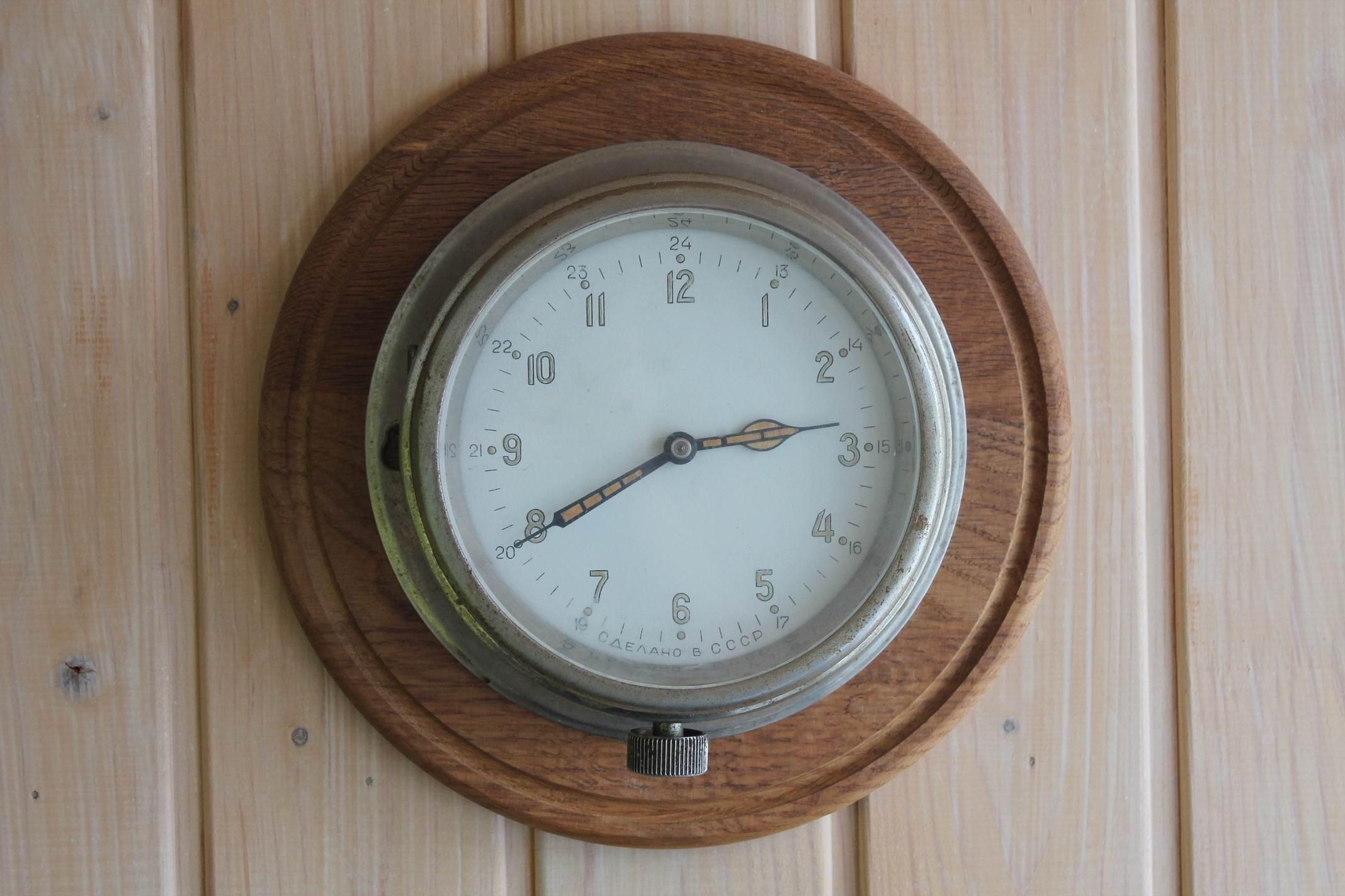 ЧМ (часы морские). 1955 год